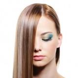 idealnie proste włosy  - modne cięcia