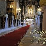 Impresja- dekoracje ślubne