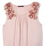 jasnoróżowa bluzeczka Mohito z kwiatami - wiosna-lato 2012