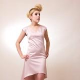 jasnoróżowa sukienka Anna Popławska - wiosenna kolekcja