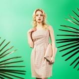 jasnoróżowa sukienka Midori  - lookbook na lato