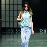 jeansowa bez rękawów koszula C&A - wiosna 2013
