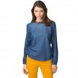 jeansowa bluzka Tommy Hilfiger - moda na jesień i zimę