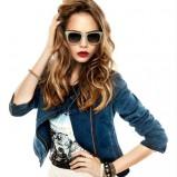 jeansowa katana Reserved - Cara Delevingne - wiosna 2013