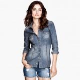 jeansowa koszula H&M - jesień i zima 2013/14