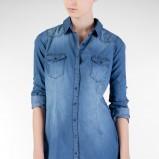 jeansowa koszula Stradivarius - moda na lato