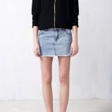 jeansowa spódniczka Pull and Bear - lato 2013