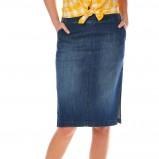 jeansowa spódniczka Tatuum - moda 2013