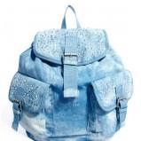 jeansowe plecak Asos - modne plecaki
