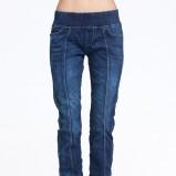 Jeansowe spodnie na gumkę, 89 zł