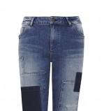 jeansy Marks & Spencer z łatami