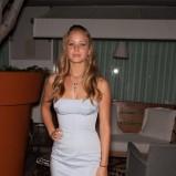 Jennifer Lawrence w gorsetowej sukience