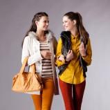 jesienna koszula Moodo w kolorze musztardowym - jesień i zima 2012/13