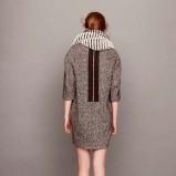 jesienna sukienka Asos w kolorze szarym - moda na zimę 2013/14