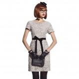 jesienna sukienka Sesst w kolorze szarym  - kolekcja jesienno - zimowa 2012/13