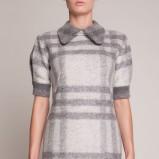 jesienna sukienka Simple w kratkę  - sukienki 2012/13