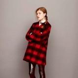 jesienny płaszczyk Asos w kratkę - jesienna moda