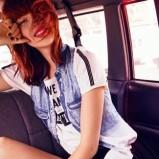 kamizelka Bershka jeansowa - letnie stylizacje