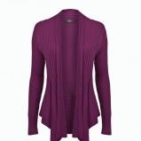 kardigan F&F w kolorze fioletowym - ubrania dla kobiet na jesień i zimę