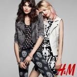 katana H&M w kolorze szarym - wiosna 2013