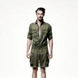 khaki kombinezon H&M - wiosna/lato 2011