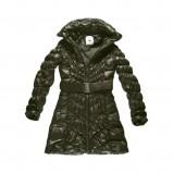khaki kurtka Big Star z paskiem błyszcząca - jesień/zima 2011/2012