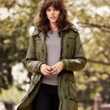 khaki kurtka H&M - jesień/zima 2011/2012