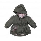 khaki kurtka KappAhl - z kolekcji wiosna-lato 2012