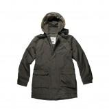 khaki płaszcz Big Star z kapturem - jesień/zima 2011/2012