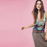 khaki spódnica Motivi  - moda na lato