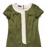 khaki sukienka krótka - wiosna/lato 2012