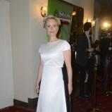 Kinga Preis w białej sukni