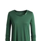 Klasyczna ciemnozielona bluzka ESPRIT luźna  moda jesień zima 2012/ 2013
