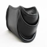 Klasyczna czarna torebka Biskup Handbags skórzana  jesienno-zimowa 2012/13