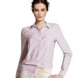 klasyczna koszula H&M w kolorze wrzosowym - moda damska 2012/13