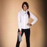 klasyczna koszula Monnari w kolorze białym - kolekcja świąteczna 2012