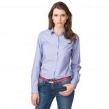 klasyczna koszula Tommy Hilfiger w kolorze błękitnym - modna odzież