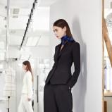 klasyczna marynarka Christian Dior w kolorze czarnym - jesień i zima 2013/14