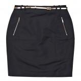 klasyczna spódniczka Reserved w kolorze czarnym - wiosna 2013