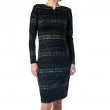 klasyczna sukienka Grey Wolf w kolorze czarnym - moda damska