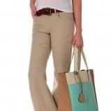 klasyczne spodnie Tatuum w kolorze beżowym - wiosna 2013