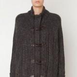 Klasyczny grafitowy sweter Oysho ocieplany HIT 2012/2013