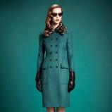 klasyczny płaszcz Gucci - jesienne trendy 2013