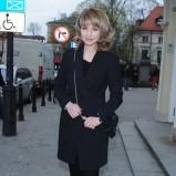 klasyczny płaszczyk w kolorze czarnym - Monika Dryl