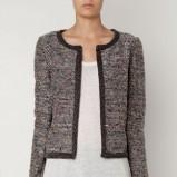 Klasyczny popielaty sweter Oysho kolekcja jesienno-zimowa 2012/2013