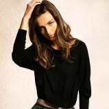 klasyczny sweterek Massimo Dutti w kolorze czarnym - kolekcja dla kobiet