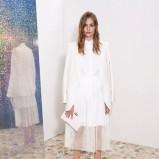 klasyczny żakiet Stella McCartney w kolorze białym - kolekcja na wiosnę i lato 2013