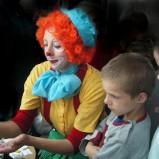 klaun na przyjęcie komunijne