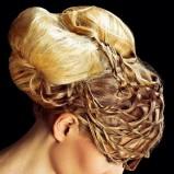 Kok XL i plecionka z włosów
