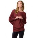 Kolekcja Tommy Hilfiger bordowa bluzka nietoperz  na jesień i zimę 2012/2013